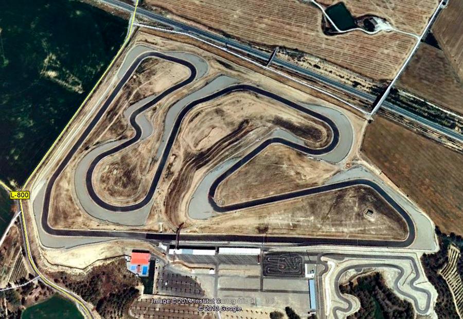 Circuito De Alcarras : Rodada circuito alcarrás lléida abril gas al