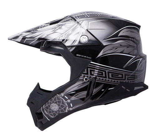 CASCO MT SYNCHRONY NATIVE NEGRO/GRIS