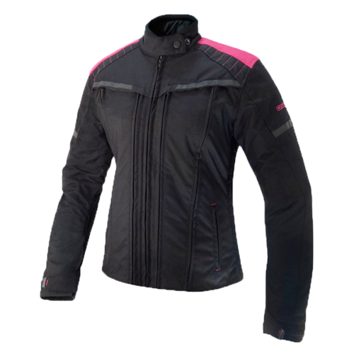 CHAQUETA CORDURA ON BOARD Essence 4S Negra/Rosa