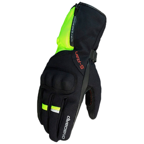 GUANTE ON BOARD S-Rain Negro/Fluor
