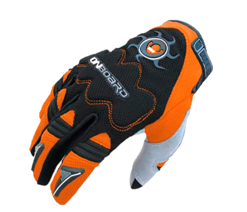 GUANTE ON BOAR MX2 Negro/Naranja