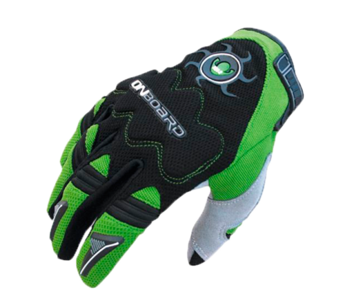 GUANTE ON BOARD MX2 Negro/Verde