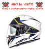 CASCO MT KRE SV INTREPID AMARILLO FLUOR BRILLO