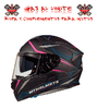 CASCO MT KRE SV INTREPID ROSA FLUOR MATE