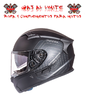 CASCO MT KRE SV SOLID NEGRO MATE