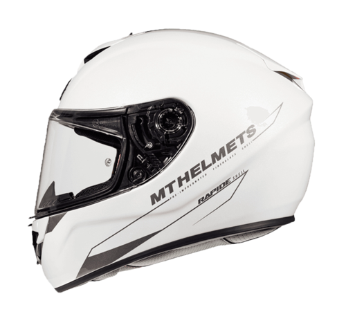 CASCO MT RAPIDE SOLID BLANCO PERLA