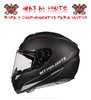 CASCO MT RAPIDE SOLID NEGRO MATE