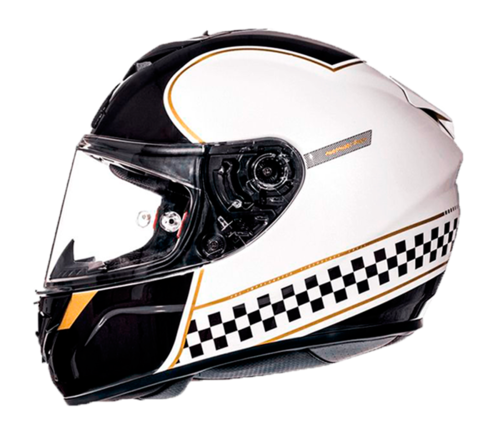 CASCO MT RAPIDE REVIVAL BLANCO PERLA BRILLO