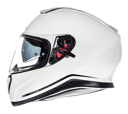 CASCO MT THUNDER 3 SV SOLID BLANCO PERLA