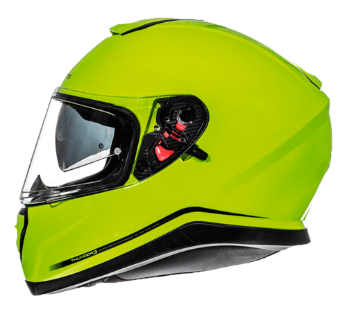 CASCO MT THUNDER 3 SV SOLID AMARILLO BRILLO