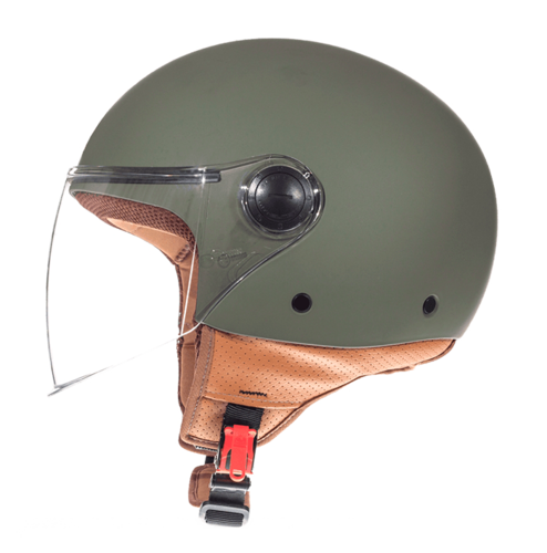 CASCO MT STREET SOLID VERDE MATE