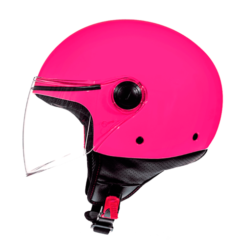 CASCO MT STREET SOLID ROSA BRILLO