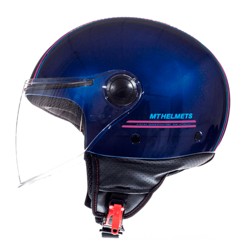 CASCO MT STREET ENTIRE AZUL ROSA FLUOR